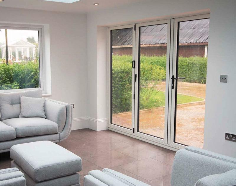 Bi-folding Doors - Doors : Windows Plus Roofs - providing ...
